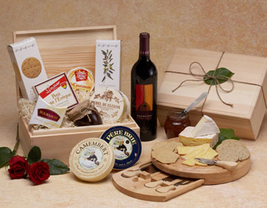 Les Fromages with Wine